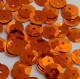 Value Pack contains 50g 8mm Metallic Orange Semi-cupped Sequins.